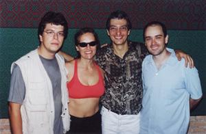 Rogério Botter Maio Quarteto SESC Pompéia - São Paulo, February 2001